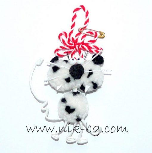 Бяла тигрица - мартеница