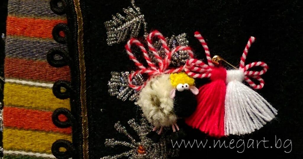 Магията на мартеницата в бяло и червено – първа част